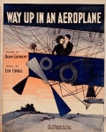 "Cover of ""Way up in an aeroplane"""