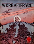 "Cover of ""We're after you"""