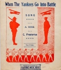 """Cover of """"When the Yankees go into battle"""""""
