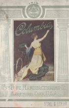 Cover of Columbia bicycle catalog