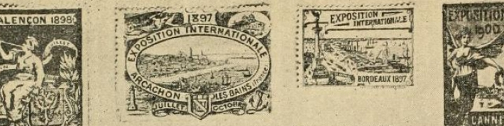 Photo of collector's stamps
