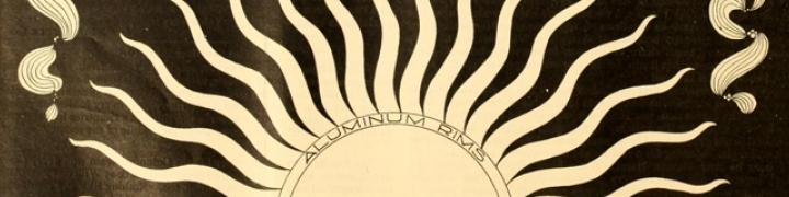 Graphic of sun's rays from the Bearings journal
