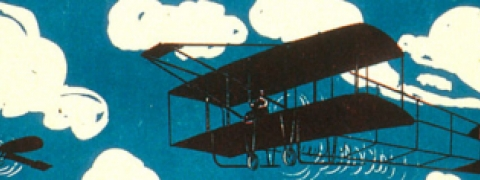 Image of an early airplane