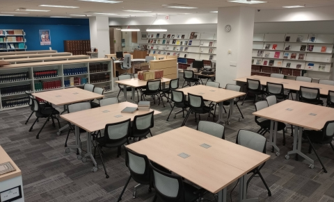 AAPG Library Reading Room