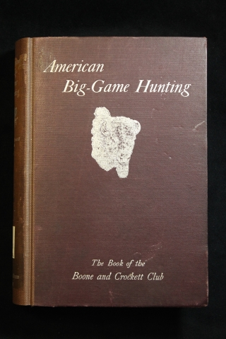 Cover of American Big-Game Hunting