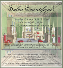 Salon Scientifique Invitation