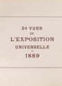 "Cover of ""24 vues de l'Exposition universelle de 1889"""