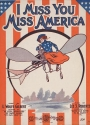 "Cover of ""I miss you Miss America /"""