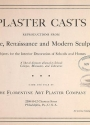 """Cover of """"Plaster casts"""""""