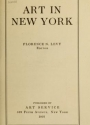 "Cover of ""Art in New York"""