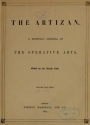 "Cover of ""The Artizan"""