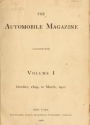 "Cover of ""The Automobile magazine"""