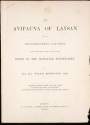 """The avifauna of Laysan and the neighbouring islands:with a complete history to date of the birds of the Hawaiian possessions"""