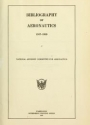"Cover of ""Bibliography of aeronautics /"""