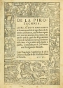 "Cover of ""De la pirotechnia"""