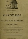 """Cover of """"Description of the panorama of the palace and gardens of Versailles"""""""