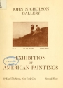 """Cover of """"Exhibition of American paintings /"""""""