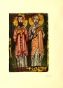 Image of two apostles from Facsimile of the Washington manuscript of the four Gospels in the Freer collection v.1