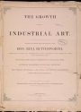 """Cover of """"The growth of industrial art"""""""