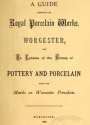 "Cover of ""A guide through the Royal Porcelain Works, Worcester"""