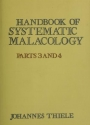 "Cover of ""Handbook of systematic malacology"""