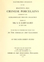 """Cover of """"Illustrated catalogue of the beautiful old Chinese porcelains comprising the extraordinary private collection"""""""