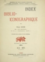 "Cover of ""Index bibliographique"""