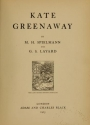 "Cover of ""Kate Greenaway /"""