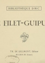 "Cover of ""Le filet-guipure"""