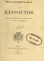"Cover of ""Les Bassoutos"""