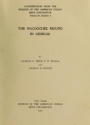 """Cover of """"The Nacoochee mound in Georgia"""""""