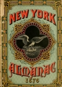 """Cover of """"The New-York almanac for 1876"""""""