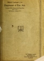 """Cover of """"Official catalogue of the Department of Fine Arts, Panama-Pacific International Exposition (with awards), San Francisco, California, 1915"""""""