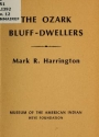 """Cover of """"The Ozark bluff-dwellers"""""""