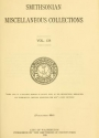"""Cover of """"Smithsonian miscellaneous collections"""""""