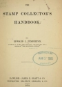 """Cover of """"The stamp collector's handbook"""""""