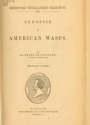 """Cover of """"Synopsis of American wasps"""""""