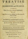 "Cover of ""A treatise on diamonds and pearls"""