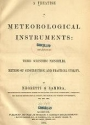 """Cover of """"A treatise on meteorological instruments"""""""