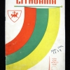 Cover of booklet for Lithuanian day : New York World's Fair, Sept. 10, 1939.
