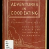 Cover of Adventures in good eating
