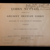 Codex Nutall title page