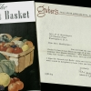 Cover of The market basket and letter