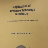 """Cover of """"Applications of aerospace technology in industry"""""""