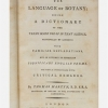The language of botany: Being a dictionary of the terms made use of in that science, principally by Linnaeus....
