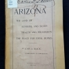 Cover of Arizona: The Land of Sunshine and Silver