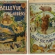 Two Vintage Zoo Guidebook Covers