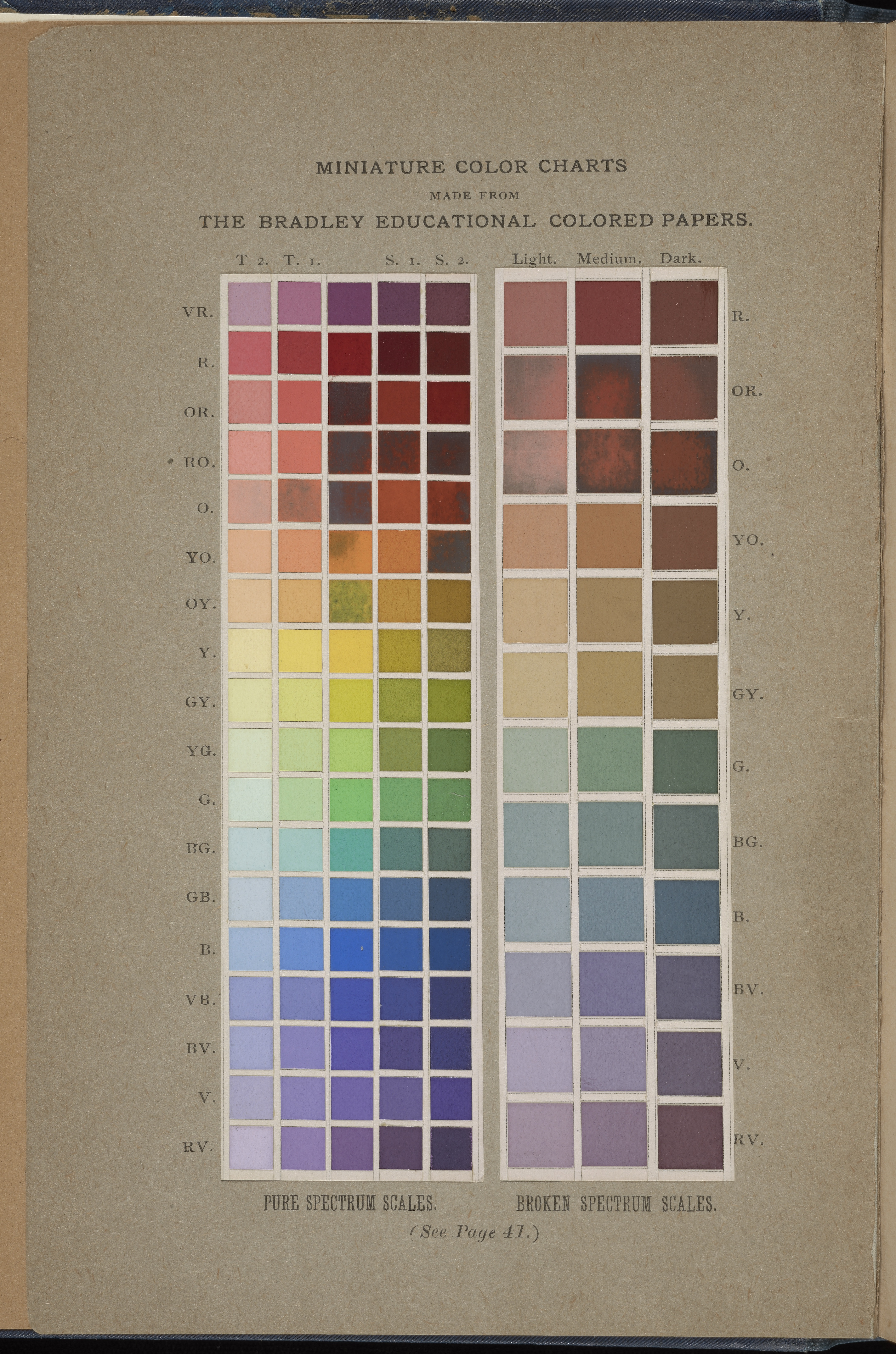 Matching color milton bradley elementary color springfield mass milton bradley co 1895 gift of binney smith inc makers of crayola crayons nvjuhfo Image collections