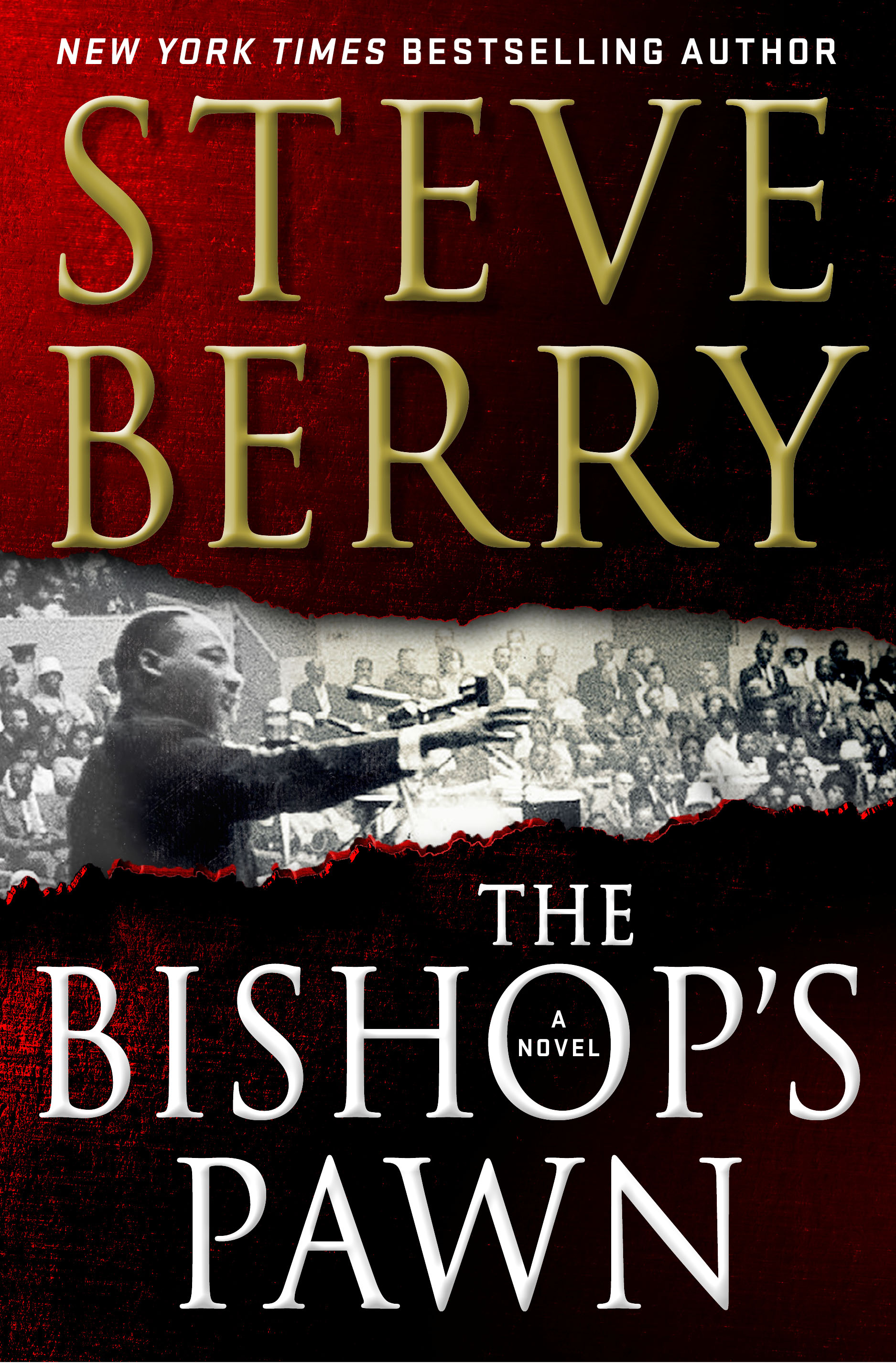 Book cover reading Steve Berry, Bishop's Pawn