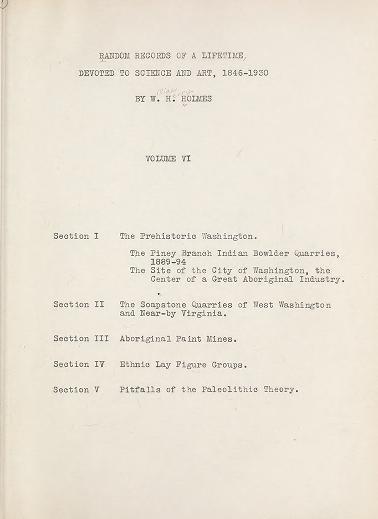 Random records of a lifetime, 1846-1931 [actually 1932] v. 6